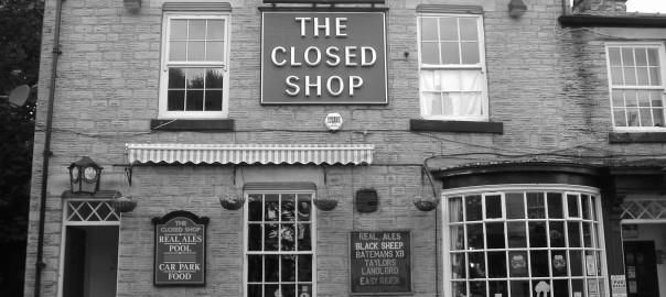 ClosedShopBW