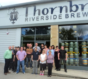 Thornbridge Team with BBC Award