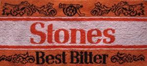 Stones bar towel
