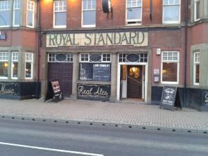 royal standard old sign