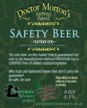 safety beer