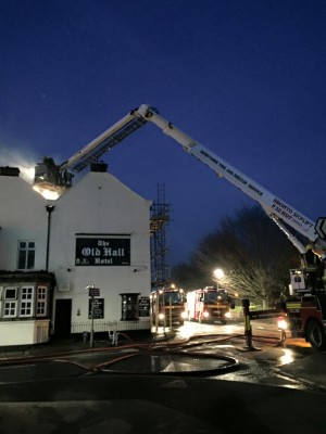 old hall fire