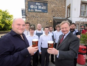 old hall theakston cheers