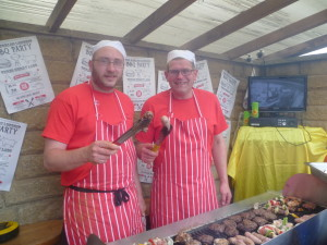 3 merry lads record BBQ
