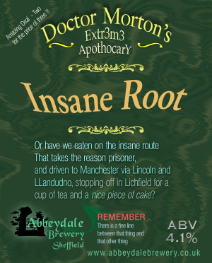 Abbeydale Dr Morton Insane Root pump clip