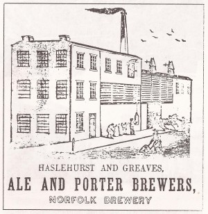 Greaves Norfolk Brewery c1860