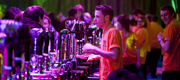 The 30metre bar at BeerX
