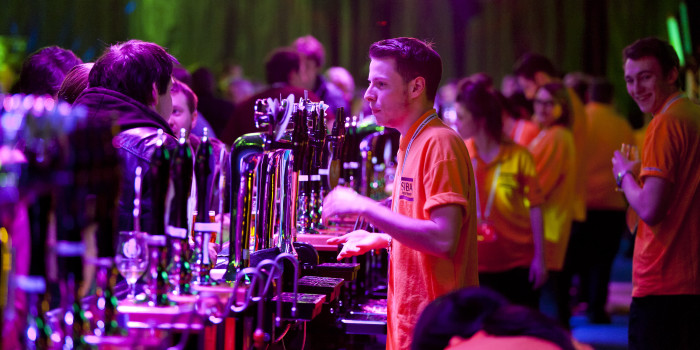 The 30metre bar at BeerX