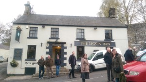 derbyshire trip 7 Moon Inn outside