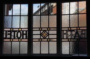 Bath Hotel window