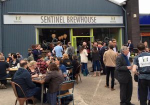 Sentinel Brewing Co launch