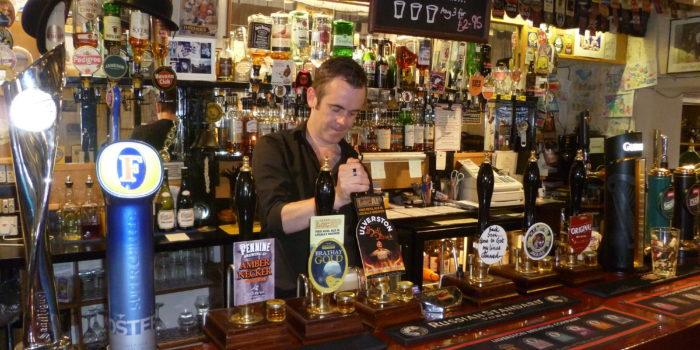 ulverston  pub bar
