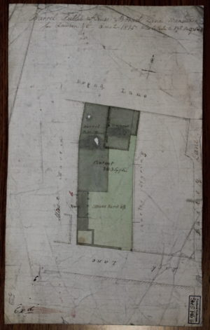 Barrel 1815 map