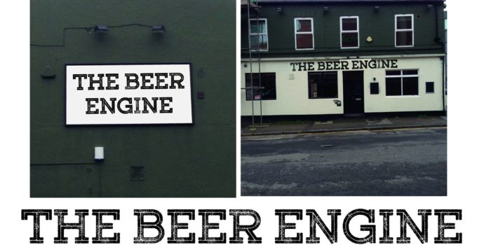 beer engine front