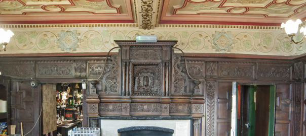 Carbrook Hall panelled room 2 by Michael Slaughter LRPS