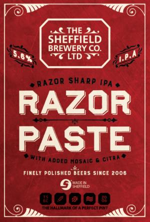 Sheffield Razor Paste
