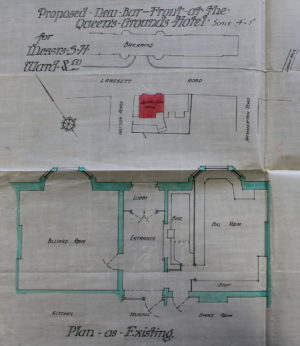 Queens Ground Plans 1913