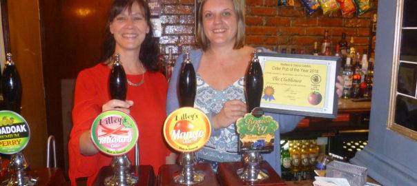 89086cee9f4fe5 Cider Pub of the Year presentation | CAMRA Sheffield & District